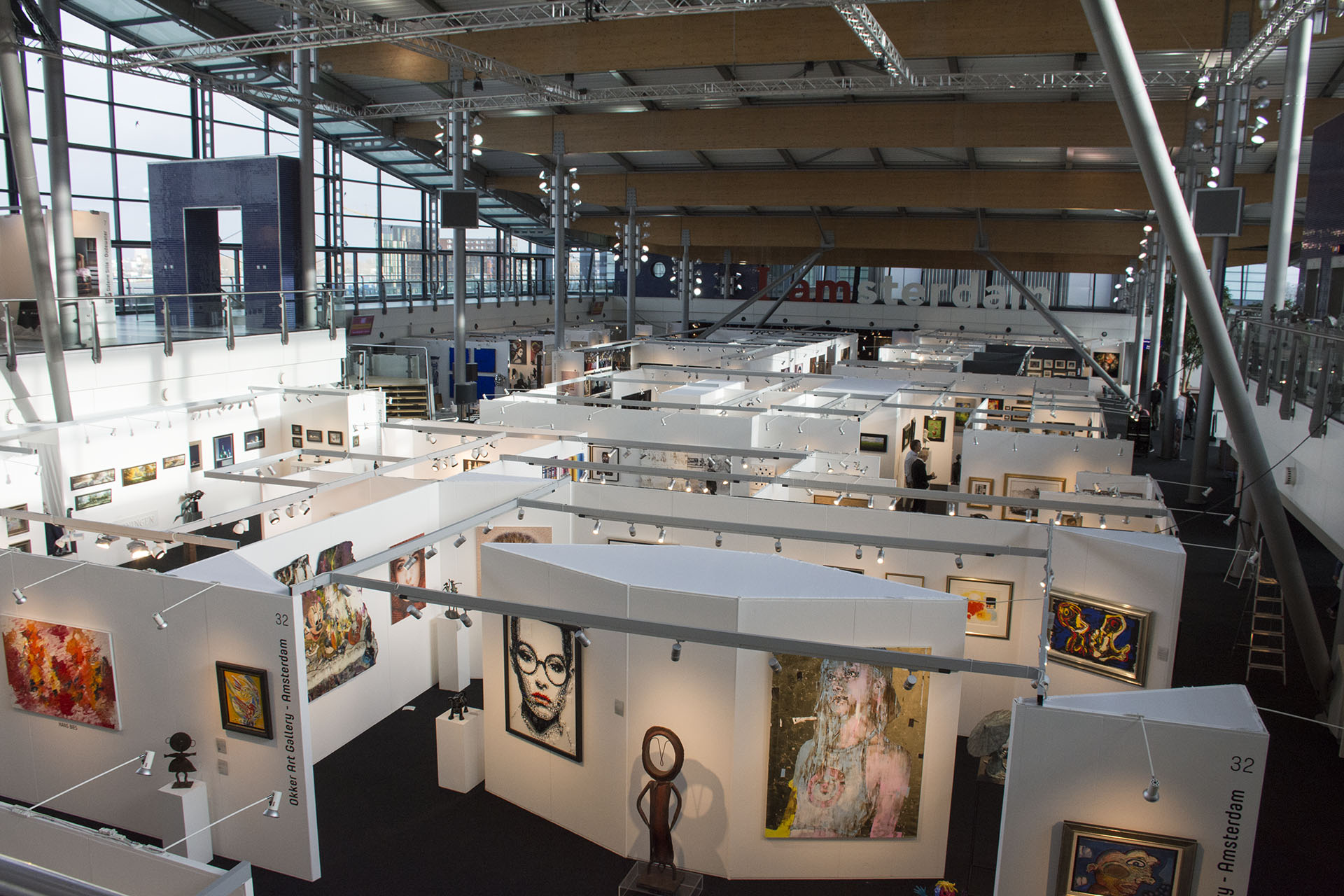 Bovenaanzicht First Art Fair